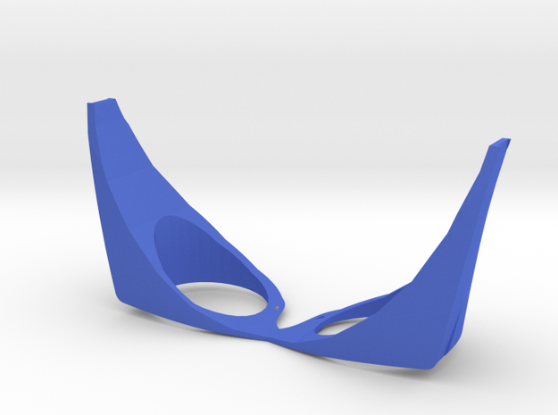 Cyclops visor (RayBan case) in Blue Processed Versatile Plastic
