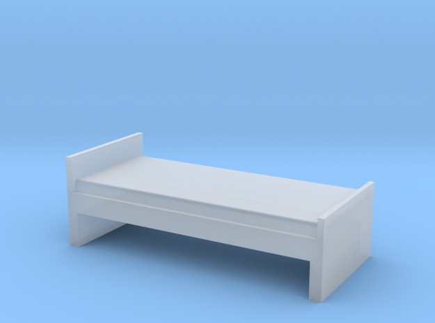 Bed H0 1/87 1:87 in Smooth Fine Detail Plastic
