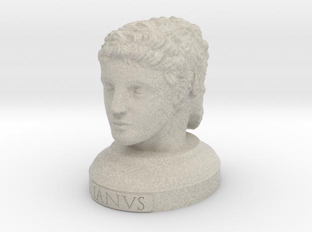 Janus Head in Sandstone