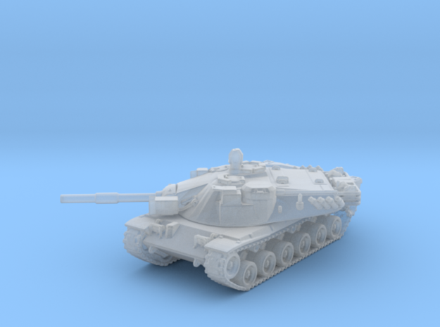 1/144 US MBT-70 Main Battle Tank in Smooth Fine Detail Plastic