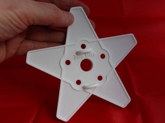 XMAS STAR 308 WHEEL120 MM 3d printed