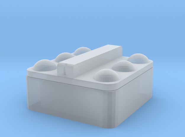 1/64 6 Ball Cattle Waterer in Smooth Fine Detail Plastic