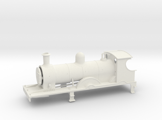 FR K2  LATE - Body - WSF in White Strong & Flexible