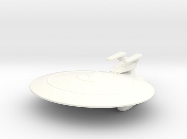 Nebula Class (Prototype #2) 1/7000 in White Processed Versatile Plastic