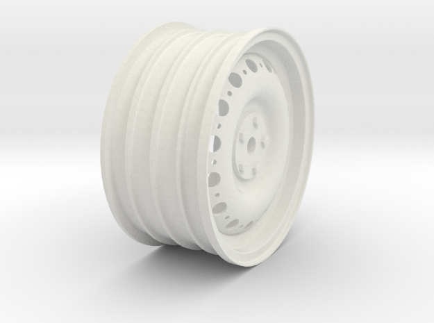 REARWheel in White Natural Versatile Plastic