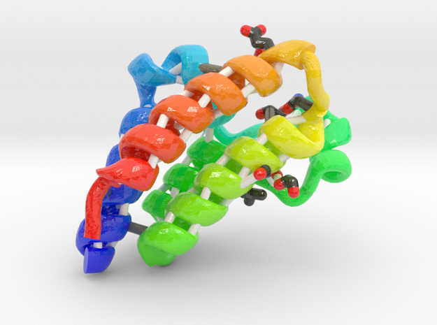 Bromodomain Containing Protein 4 (BRD4) in Glossy Full Color Sandstone
