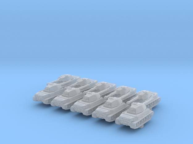 1/700 German VK 45.02 (P) Ausf. A Heavy Tank x10 in Smoothest Fine Detail Plastic
