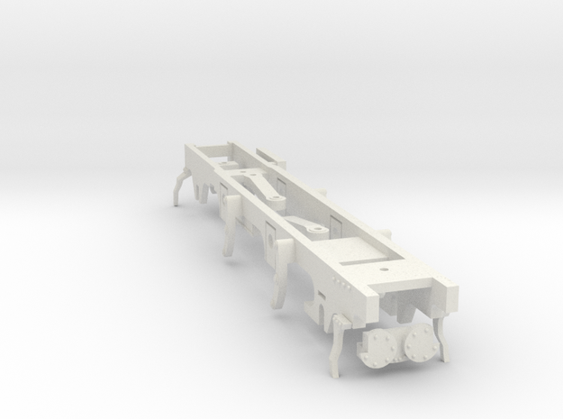7mm - Furness J1 - 0 Gauge Chassis in White Natural Versatile Plastic