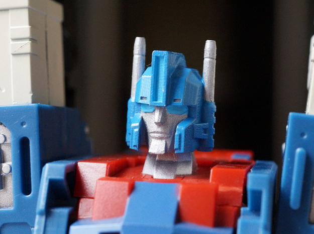 Enforcer's Head replacement for City Commander