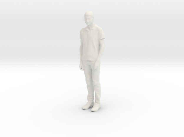 Printle C Homme 948 - 1/24 - wob in White Natural Versatile Plastic