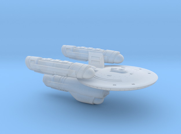 Terran Gray Class Heavy Destroyer - 1:7000 in Smooth Fine Detail Plastic