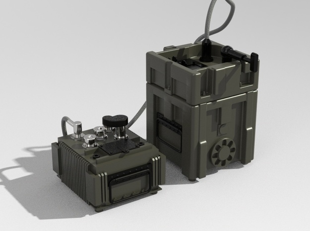1.14 TOW MISSILE GUIDANCE SET in Smooth Fine Detail Plastic