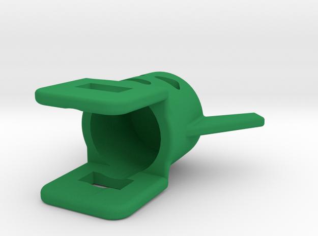 Whirlwind Helmet in Green Processed Versatile Plastic