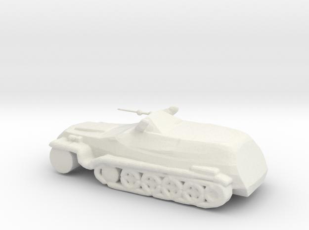 TRUCK1OBJ in White Natural Versatile Plastic