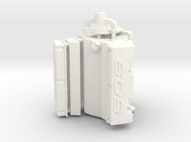 Brodix 1/12 509 Engine in White Processed Versatile Plastic