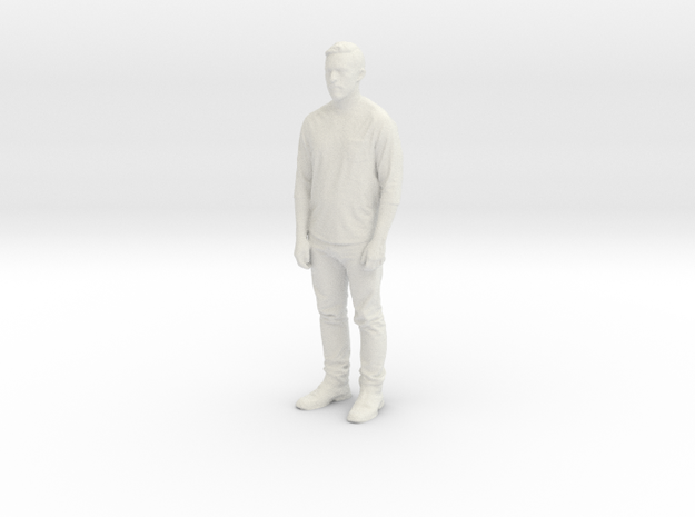 Printle C Homme 871 - 1/24 - wob in White Natural Versatile Plastic