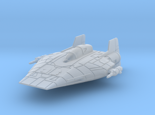 Rx-1-a-wing in Smooth Fine Detail Plastic