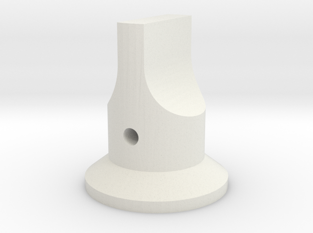 Select ARC 186 in White Natural Versatile Plastic