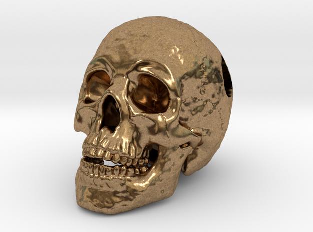 Human Skull Pendant - Skull Bead