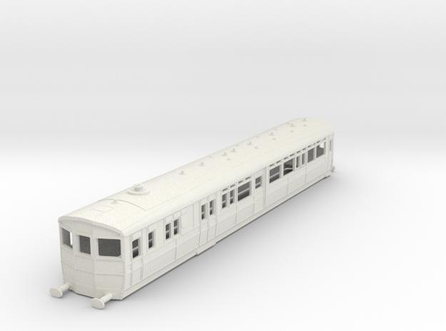 O-76-gwr-diag-q1-r-steam-railmotor1 in White Natural Versatile Plastic
