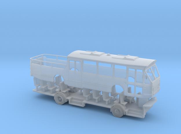 DAF MB200 cabrio streekbus schaal N in Smooth Fine Detail Plastic