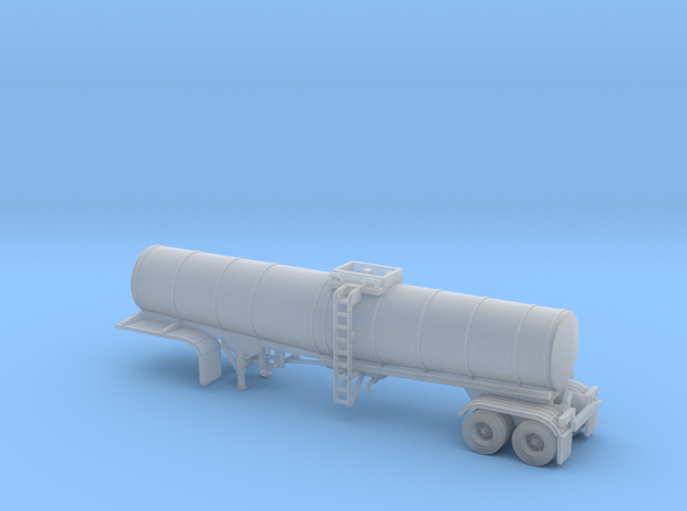 N scale 1/160 Crude Oil trailer, Brenner 210 in Smooth Fine Detail Plastic