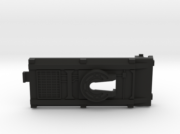 Cab Over Battery Cover in Black Strong & Flexible