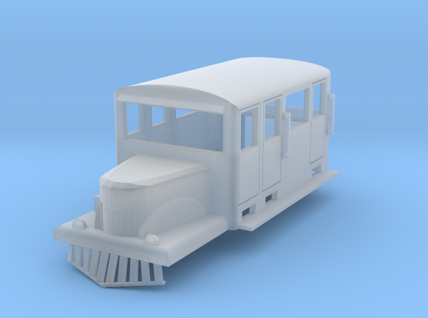 Western Maryland T200 auto-railer jitney, HO scale in Frosted Ultra Detail