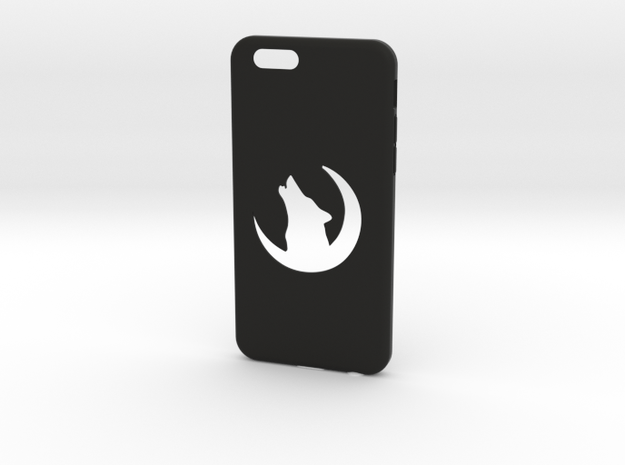 Wolf Iphone 6 Case in Black Natural Versatile Plastic