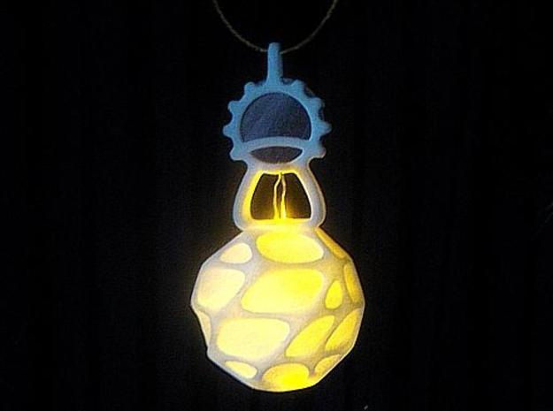 LED Pendant Ornament 3d printed Hung around the neck as a pendant.