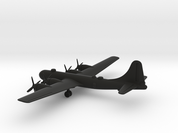 Boeing B-29 Superfortress in Black Strong & Flexible: 1:285 - 6mm