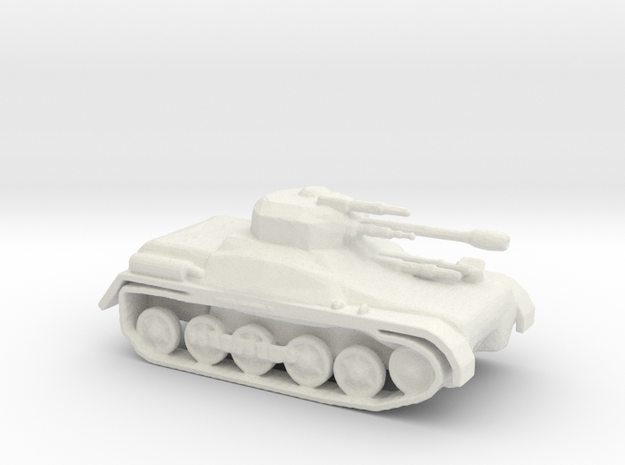 LTIAS Light Tank Infantry Assault Support  in White Natural Versatile Plastic