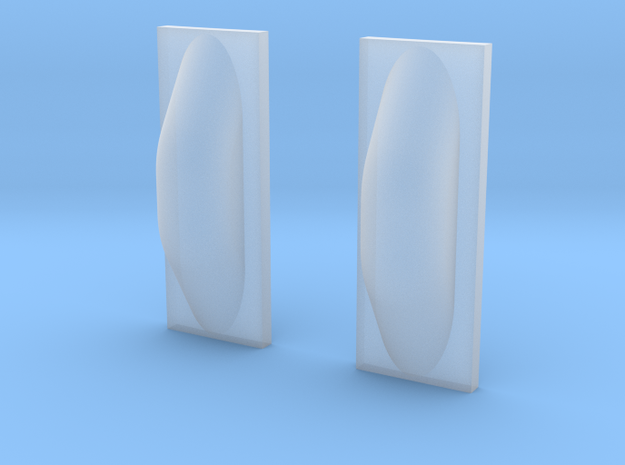 1:48 LH2 Chilldown Return Line Fairing (2 Pack) in Smooth Fine Detail Plastic