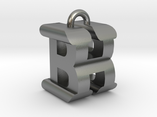 3D-Initial-BH in Raw Silver