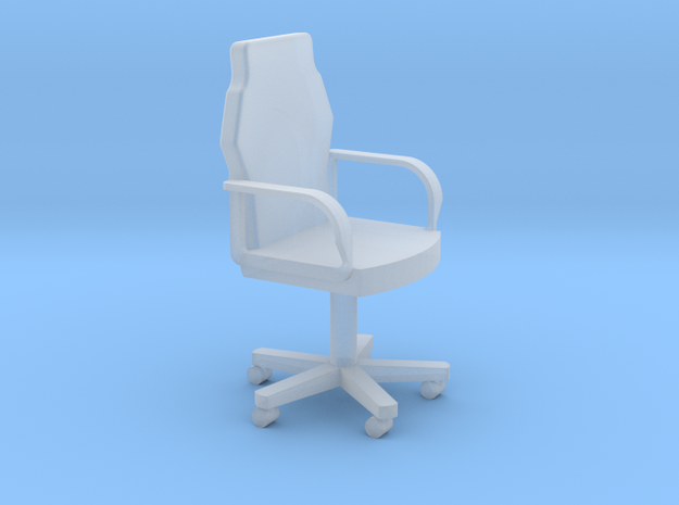 Ward Room Chair HiRez (Star Trek Deep Space 9), 1/ in Smooth Fine Detail Plastic