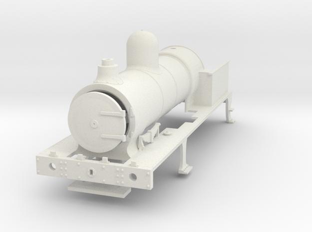 7mm - FR E1 & Cambrian SPC - BASIC in White Natural Versatile Plastic