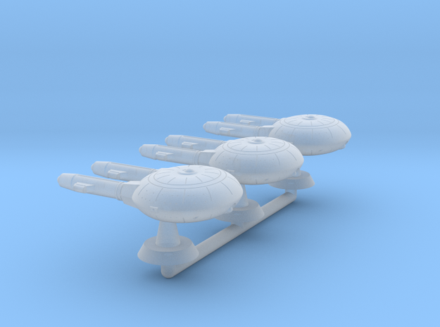 Terran(Early)Manfred Cruiser Squadron - 1:7000 in Smooth Fine Detail Plastic