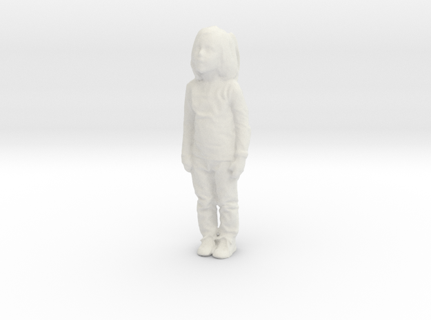 Printle C Kid 154 - 1/24 - wob in White Strong & Flexible