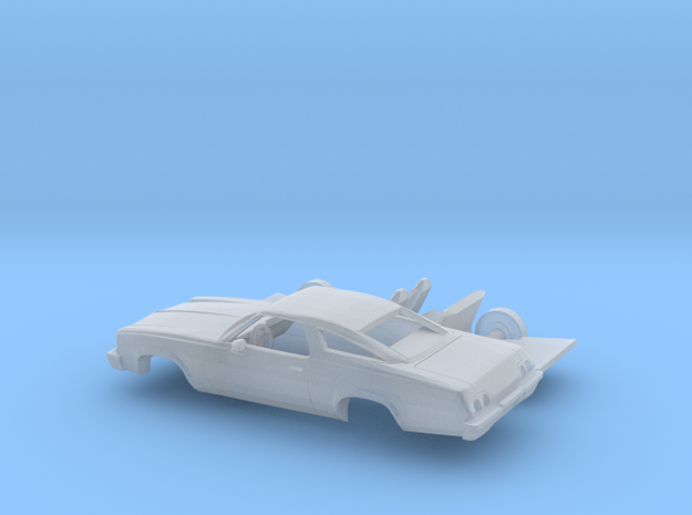 1/160  1973 Chevrolet Chevelle Coupe Kit in Frosted Extreme Detail