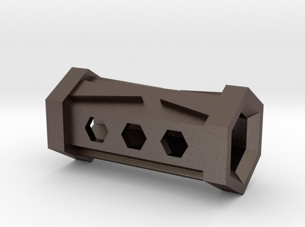 Hexagon Flute in Stainless Steel