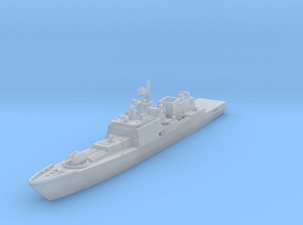 "Project 11356 Frigate ""Admiral Grigorovich"" in Frosted Ultra Detail: 1:1250"