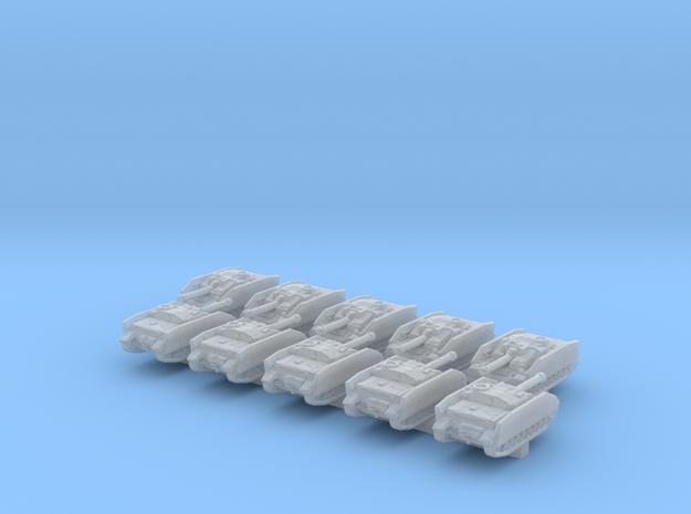 1/600 German StuG IV Tank Destroyer x10 in Smoothest Fine Detail Plastic