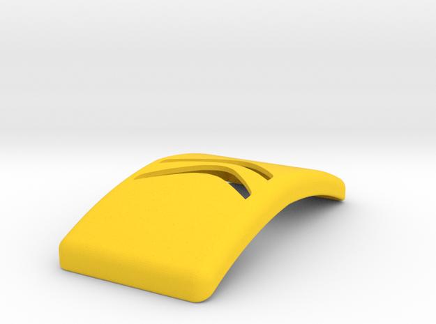 Citroen Keychain in Yellow Processed Versatile Plastic