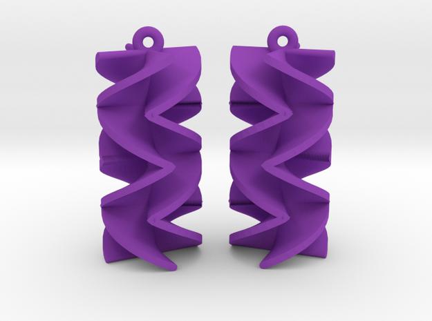 Sawtooth Rotini Earrings