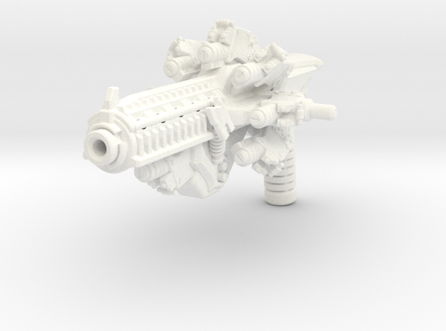 Time Blaster for TLK Hot Rod in White Strong & Flexible Polished