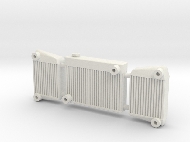 Intercooler 2 1/12 in White Strong & Flexible