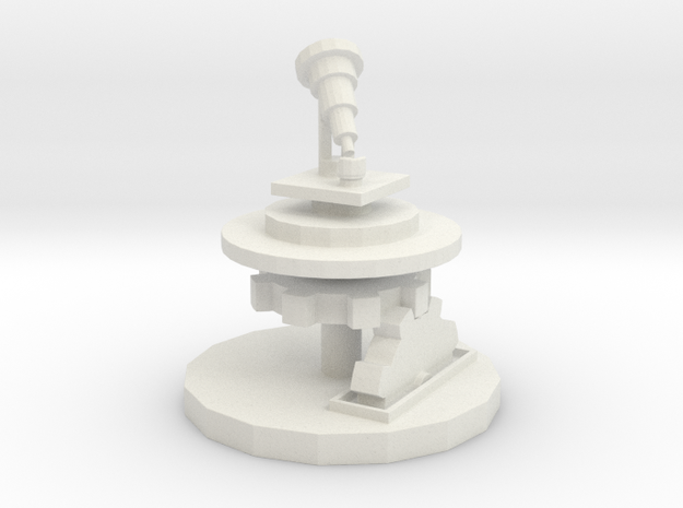 Wizards Telescope Platform in White Strong & Flexible