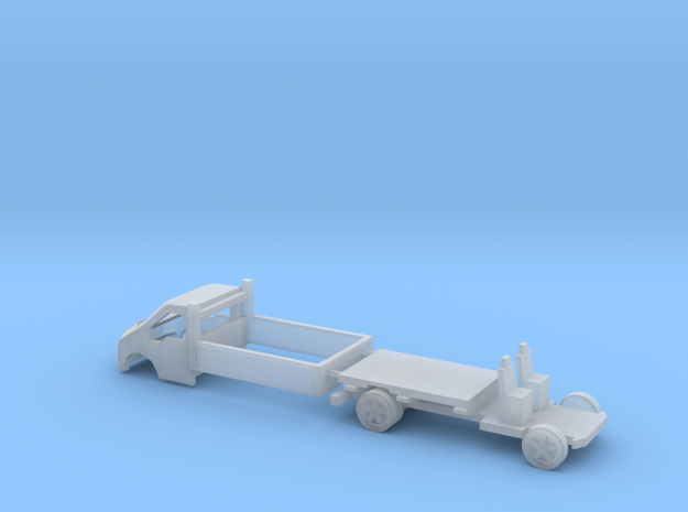 N Gauge Transit Pickup in Smooth Fine Detail Plastic