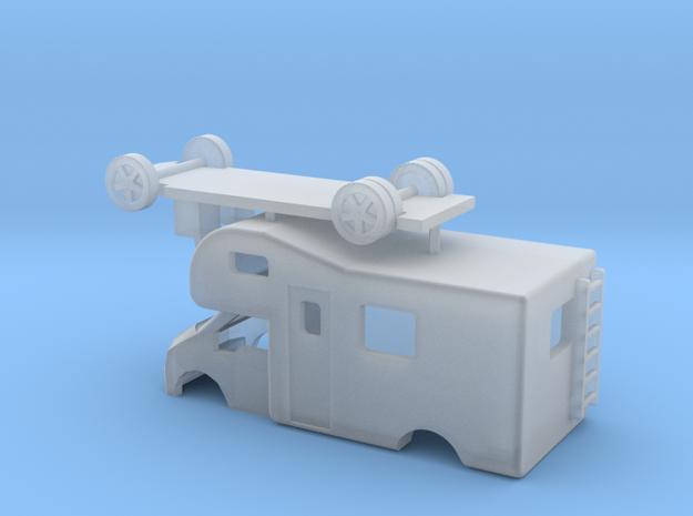 N Gauge Transit Mobile Caravan