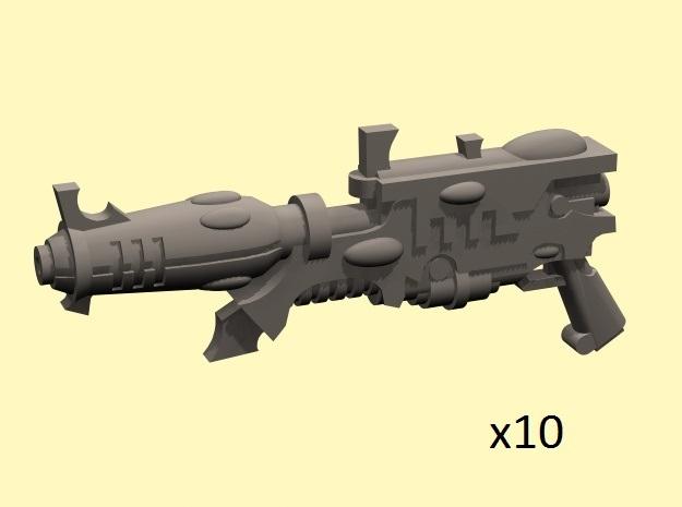 28mm Space elf blasters (10)